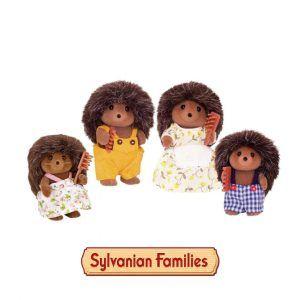 Familia Erizo Sylvanian Families