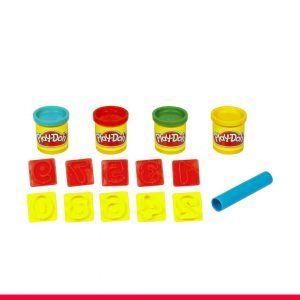 2-Balde-Play-Doh-Números