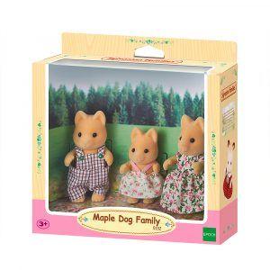Sylvanian Families Maple Dog Family