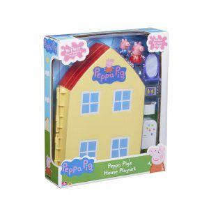Casa de Peppa Pig con Tapete