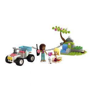 Lego Buggy De Rescate De La Clínica Veterinaria|