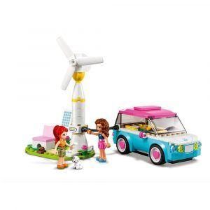 Lego Auto Eléctrico De Olivia