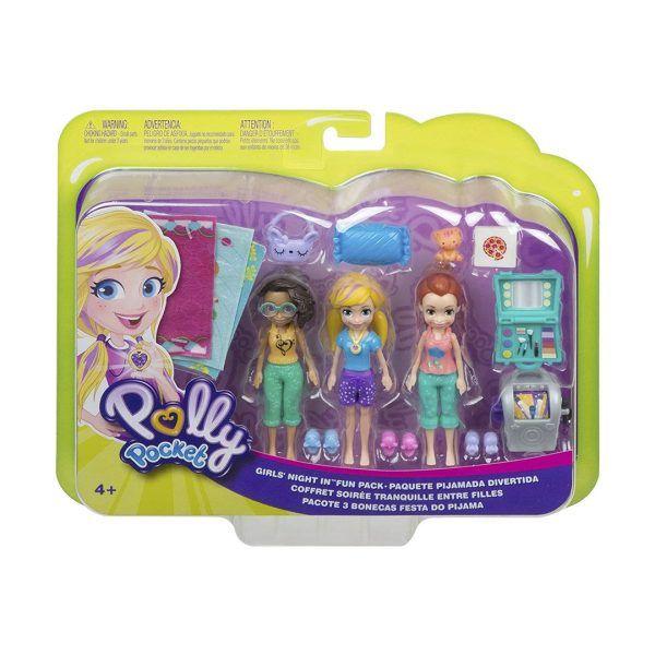Polly Pocket Paquete Pijamada Divertida