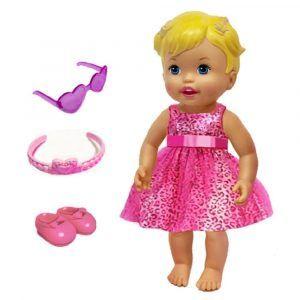 Little Mommy Muñeca Rubia - Juguemos A Vestirnos Elegantes