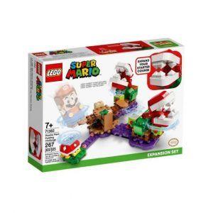 Lego Super Mario - Desafío Desconcertante de las Plantas Piraña