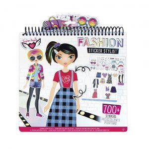 Set Portafolio Dibujo y Stickers - Diseñadora de Modas