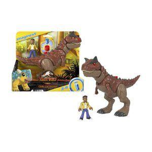 Jurassic World Camp Cretaceous - Carnotaurus y Darius