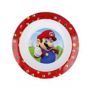 Bowl Super Mario Apto Microondas