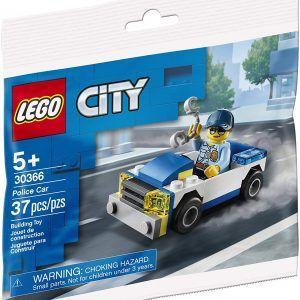 Lego City - Carro De Policía