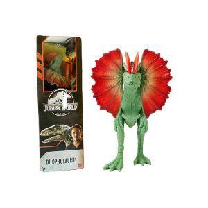 Jurassic World Dinosaurio Articulado Dilophosaurus
