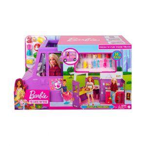 Barbie Carro De Comida