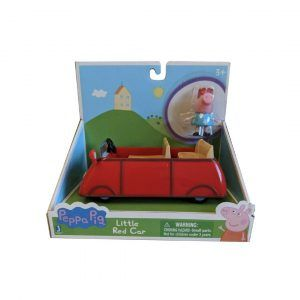Peppa Pig - Pequeño Auto Rojo