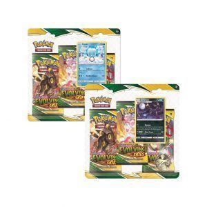 Pokémon Evolving Skies 3 Pack - Inglés y Español