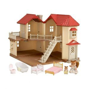 City House with Lights Gift Set Sylvanian Families