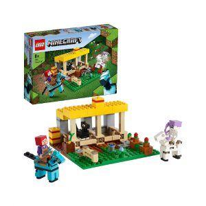 LEGO Minecraft – El Establo de los Caballos